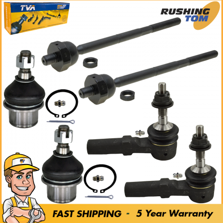 6Pc Suspension Tie Rod Ball Joint Kit for 2003-2006 Ford Expedition