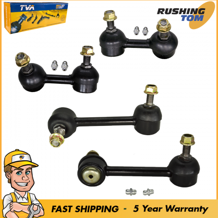 Sway Bar Stabilizer Link Front Rear Left & Right Kit 4 for Accord Acura TL CL