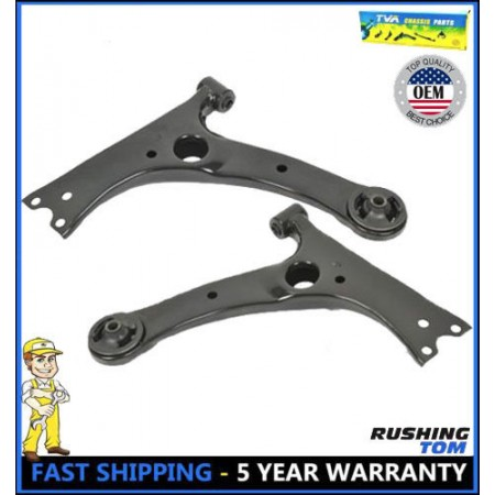 New Pair of 2 Front Lower Control Arms Fits Pontiac Vibe Toyota Corolla Matrix