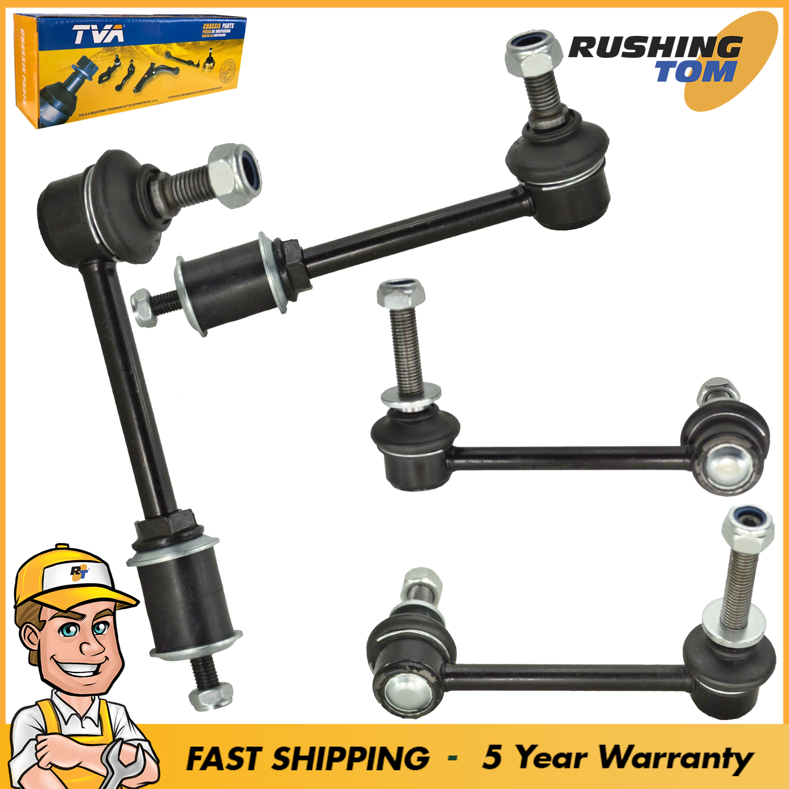 New Sway Bar Link Front /& Rear Kit 4Pc for Lexus Toyota