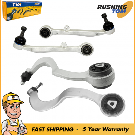 Kit Front Lower Control Arm 2 forward & 2 Rearward fits BMW 7 Series E65 E66