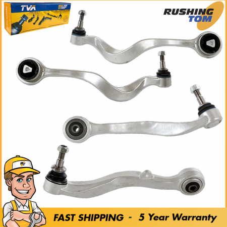 4Pc Front Left & Right Side Lower Control Arm Kit for BMW E60 Body