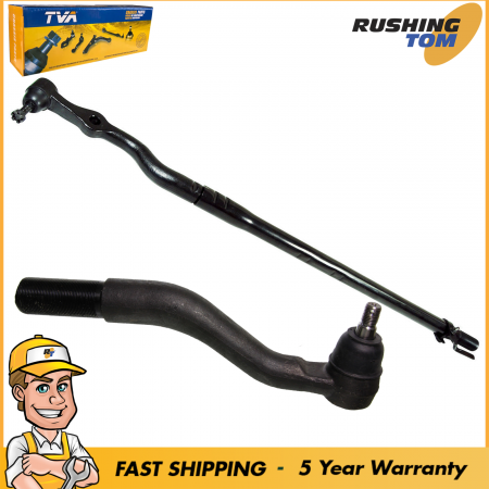 2 Outer Tie Rod Kit for Super Duty Pickup Truck 4WD